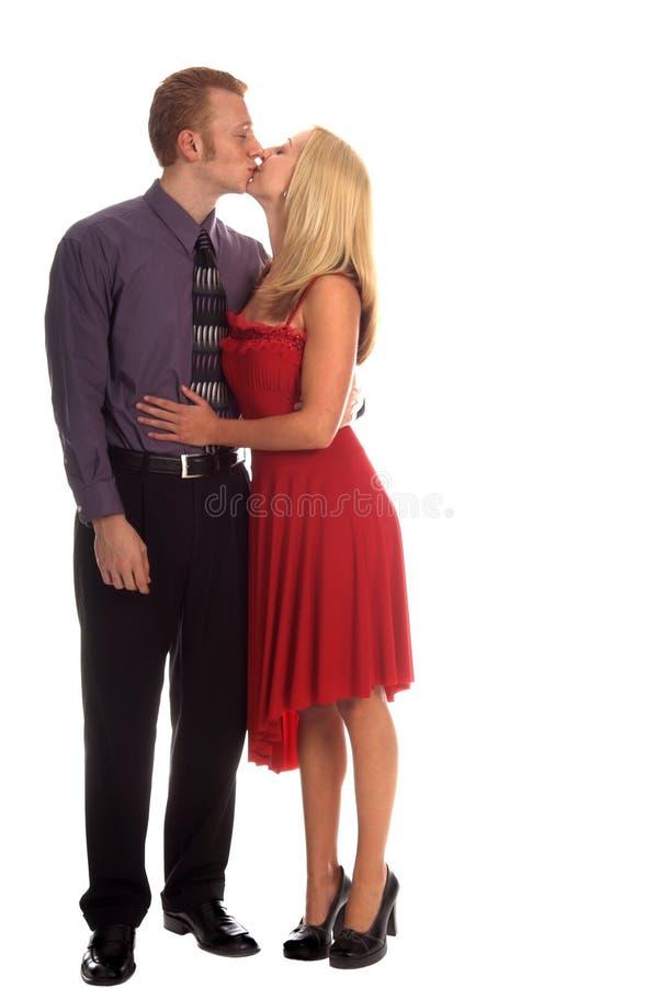 Valentine Kiss stock images
