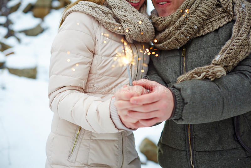 Valentine-licht royalty-vrije stock foto's