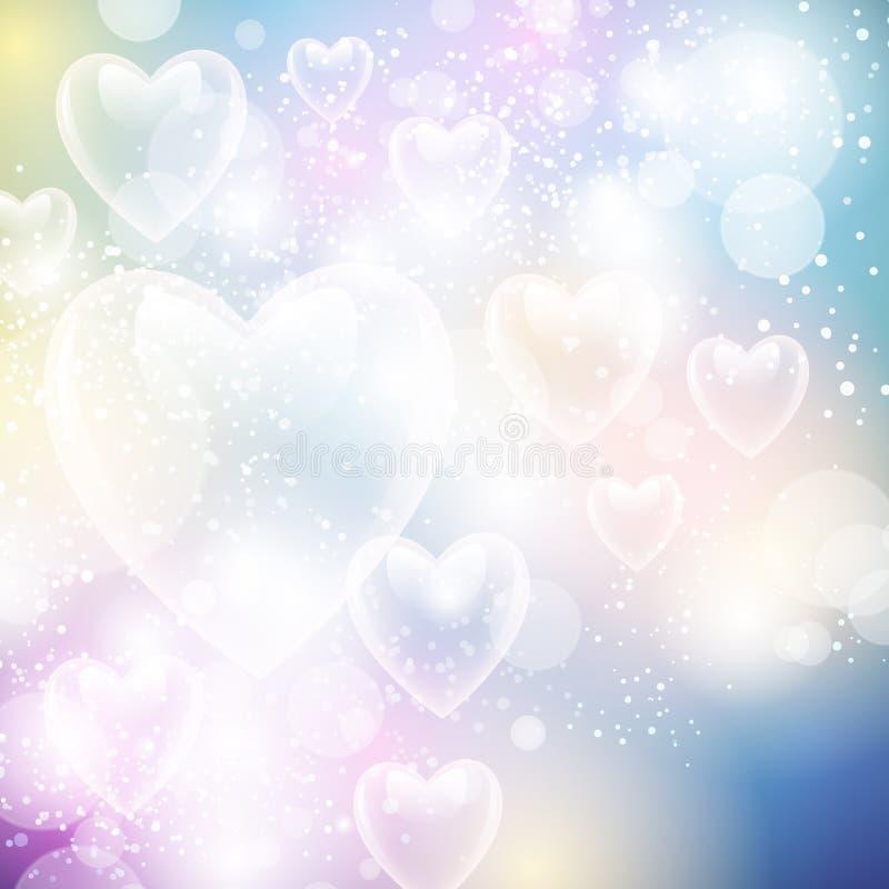 Valentine Love Background royalty-vrije illustratie