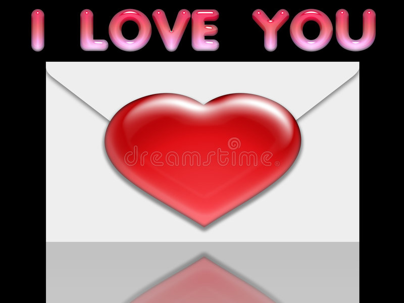 Valentine love card (12) royalty free stock images