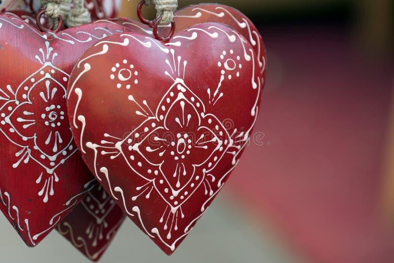 Valentine Love Heart arkivfoton