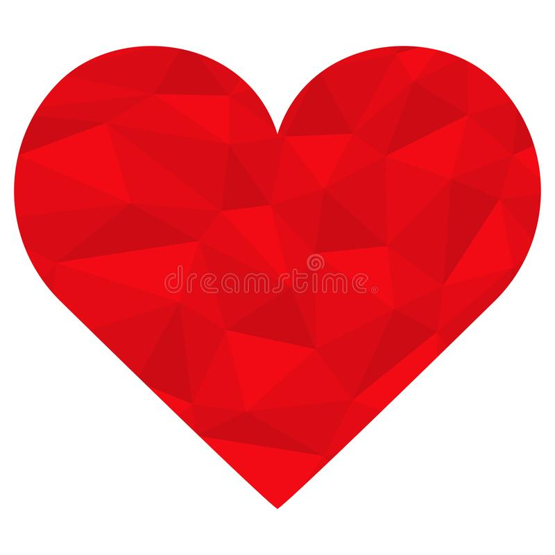 Valentine love heart. Valentine or mothers day special love heart isolated on white background valentines friendship togetherness birthday affection relationship vector illustration