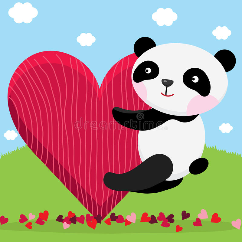 Valentine Love para você ilustração stock