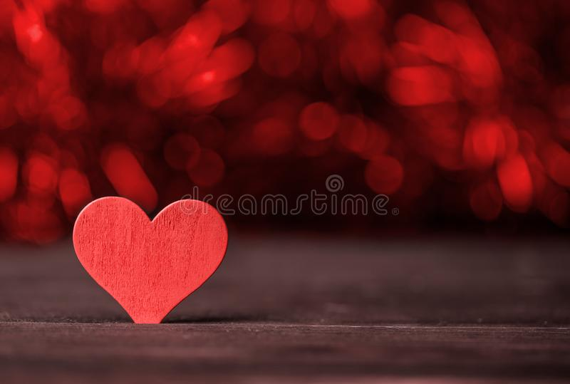 Valentine. Love. Valentine`s Day postcard. Love concept for mother`s day and valentine`s day. Happy Valentine`s day hearts on wood royalty free stock image
