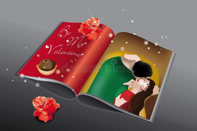 Download Valentine Magazine stock vector. Illustration of love - 26035499