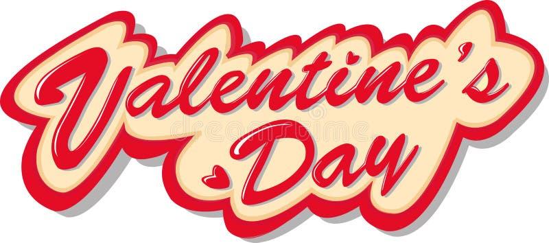 Valentine-markering-rood stock foto's