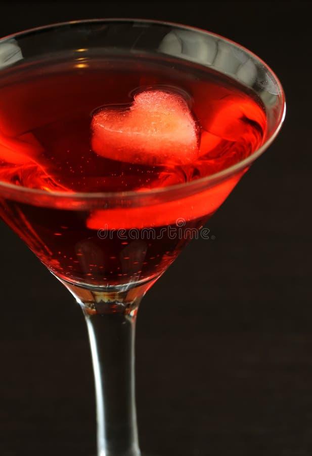 Valentine Martini royalty free stock photos