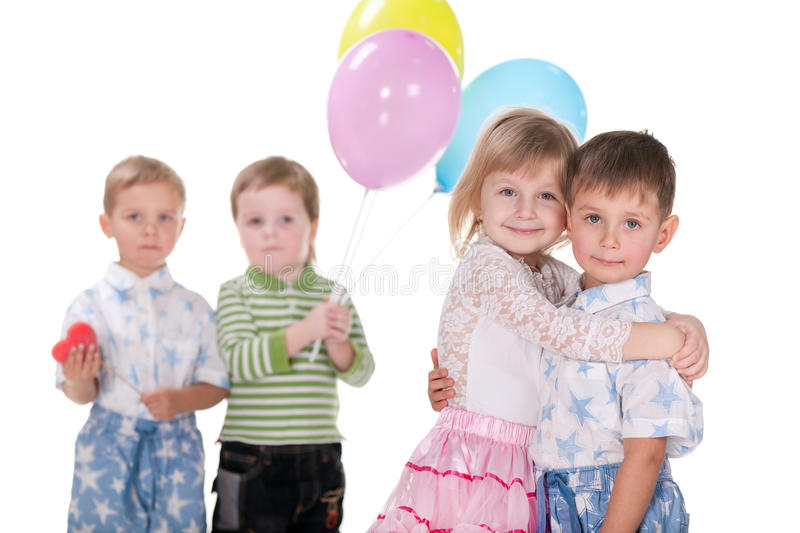 Download Valentine miracle stock image. Image of kids, care, cheerful - 17883417