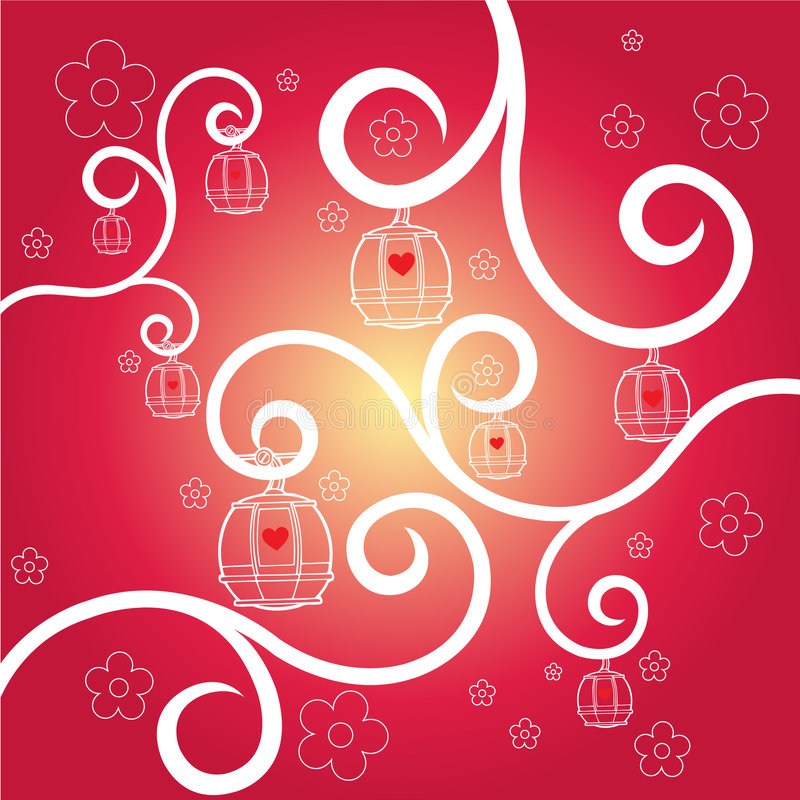 Valentine Ornament Royalty Free Stock Photography