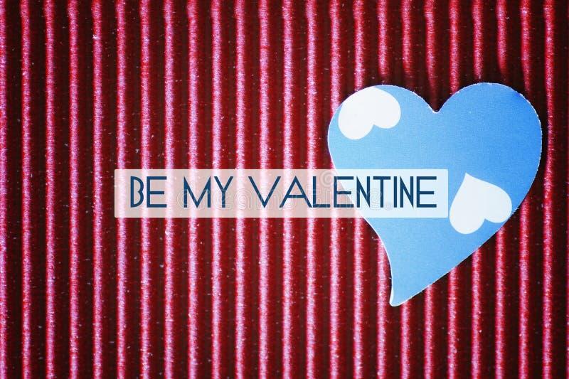 Valentine paper heart shape royalty free stock photos