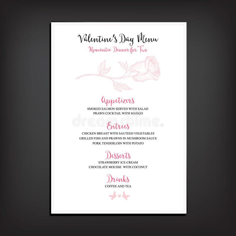 Valentine party invitation restaurant food flyer stock vector download valentine party invitation restaurant food flyer stock vector illustration of heart stopboris Image collections