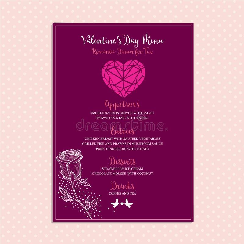 valentine party invitation restaurant food flyer stock vector illustration of hipster. Black Bedroom Furniture Sets. Home Design Ideas