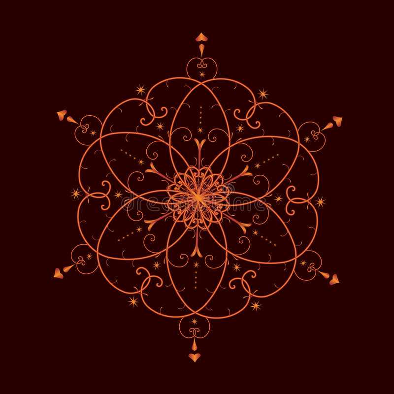 Valentine pattern royalty free illustration