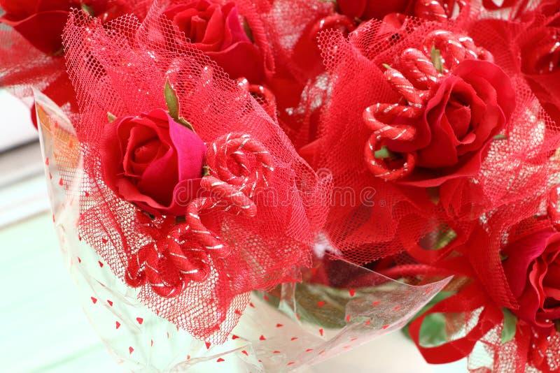Valentine Roses image libre de droits