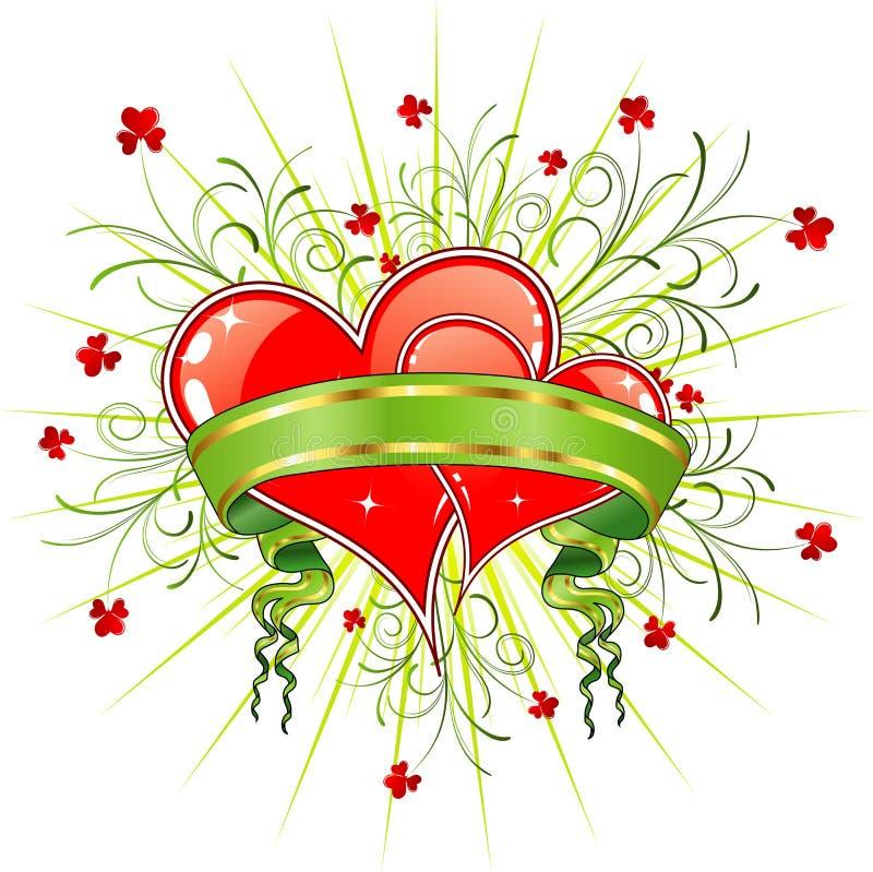 Valentine's abstract stock illustration