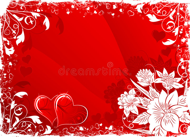 Valentine's background royalty free illustration