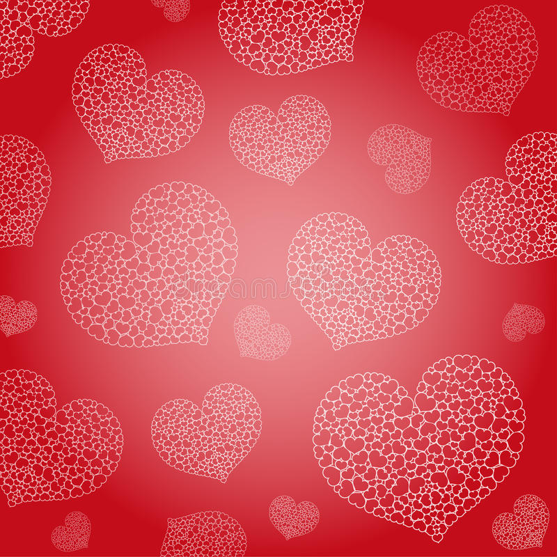 Download Valentine's background stock vector. Image of decoration - 23290945
