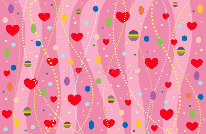 The Valentine S Background. Stock Image