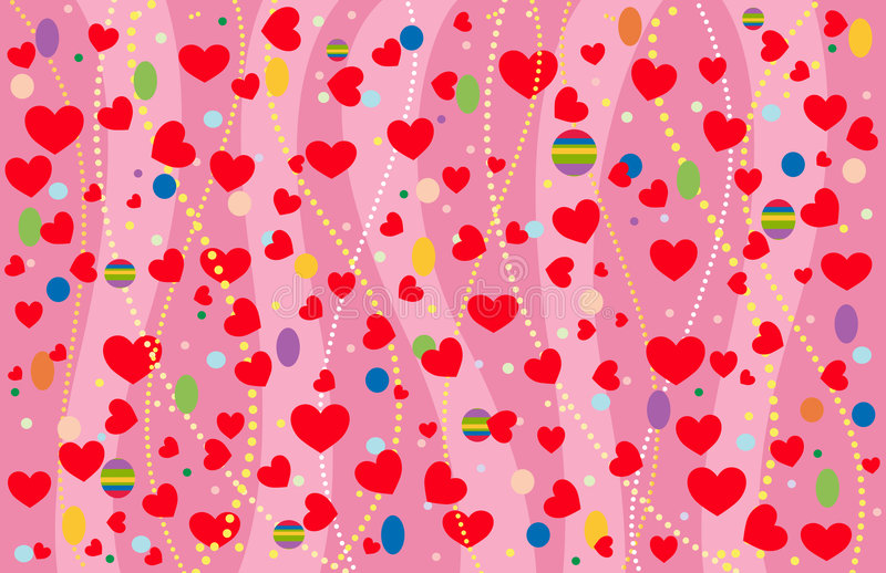 The Valentine S Background. Royalty Free Stock Photos