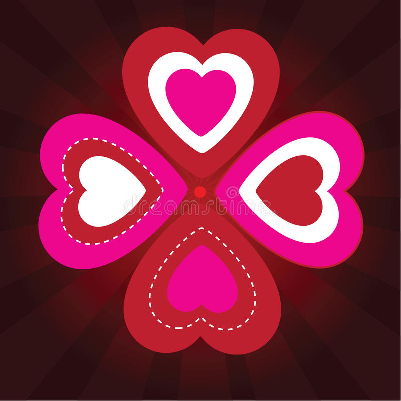 Download Valentine's Background With Ornament Stock Illustration - Image: 34761871