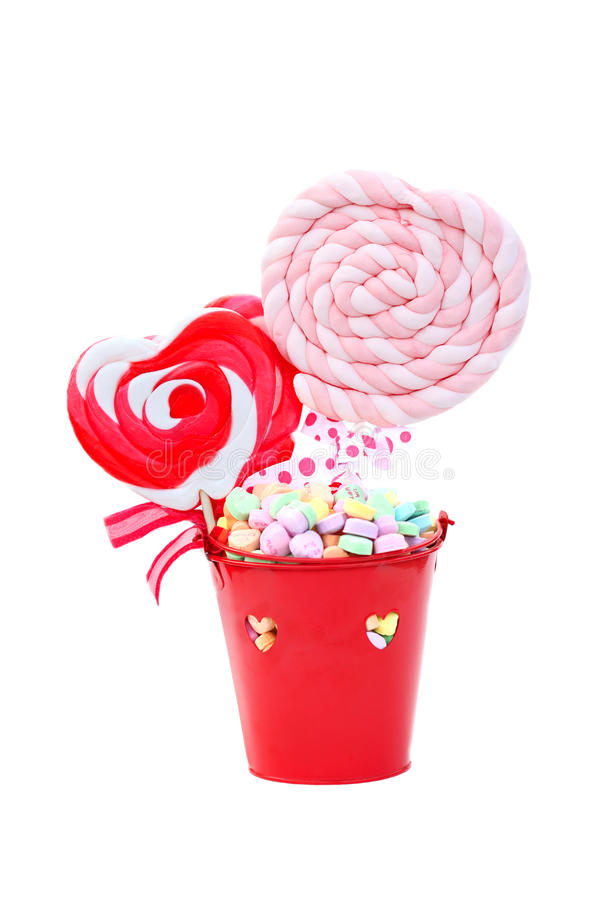 Valentine's Candy stock photos