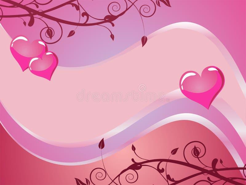 Valentine`s card stock illustration