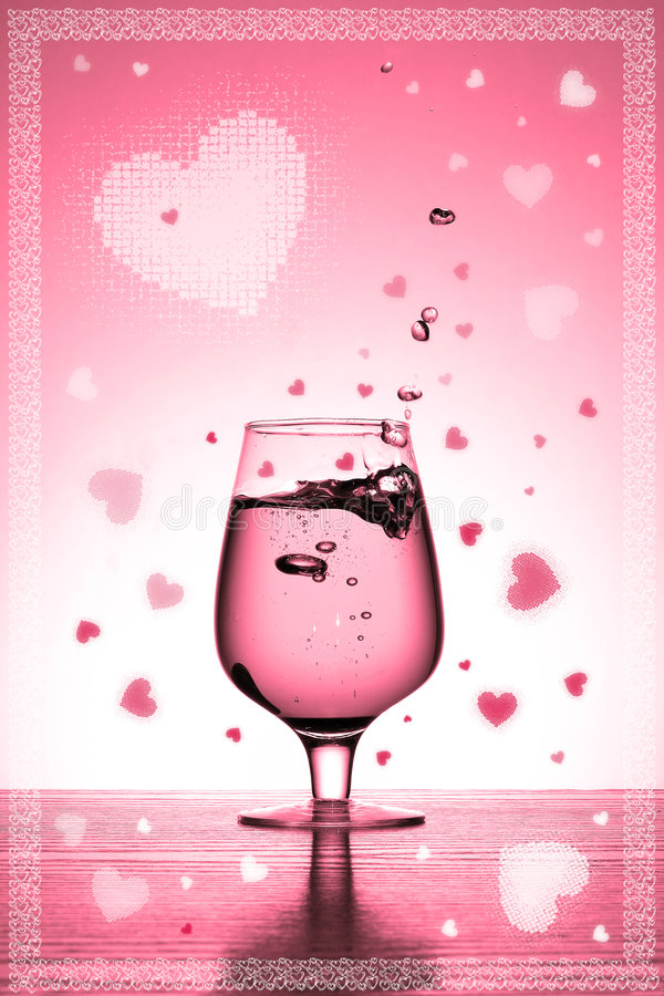 Download Valentine's card stock illustration. Illustration of overflow - 465958