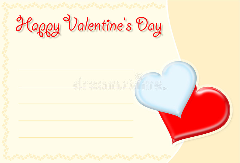 Download Valentine's card stock illustration. Image of cupid, generated - 481159