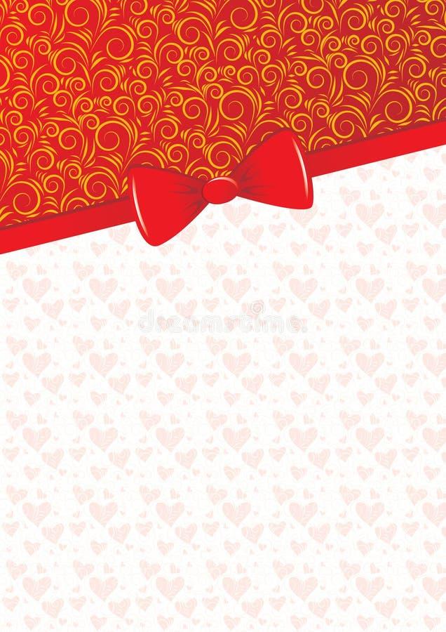 Valentine's card royalty free stock photos