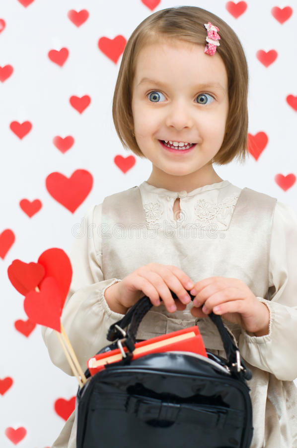 Download Valentine's concept stock image. Image of little, face - 36394923