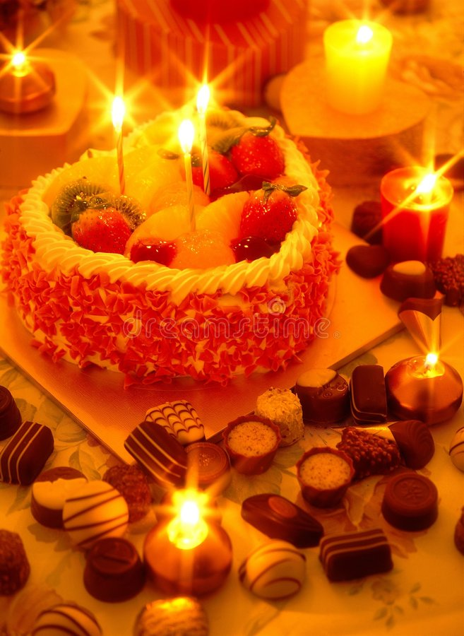 Download Valentine's Day stock photo. Image of candles, decoration - 208416