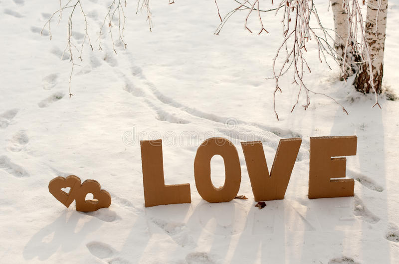 Download Valentine,s Day stock photo. Image of snow, valentine - 28185862