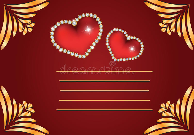 Download Valentine's Day stock vector. Image of band, spring, heart - 28430045