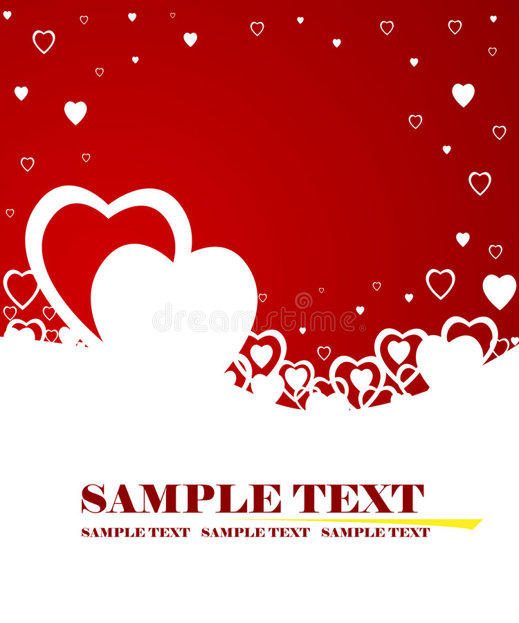 Download The Valentine's day stock vector. Image of decorative - 4095466