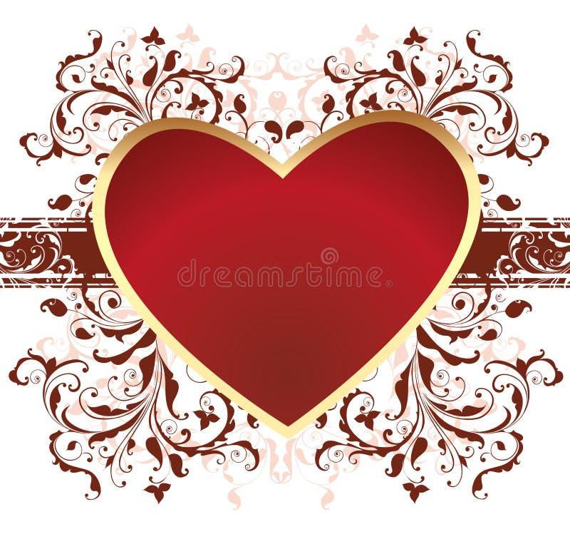 The Valentine's day vector illustration