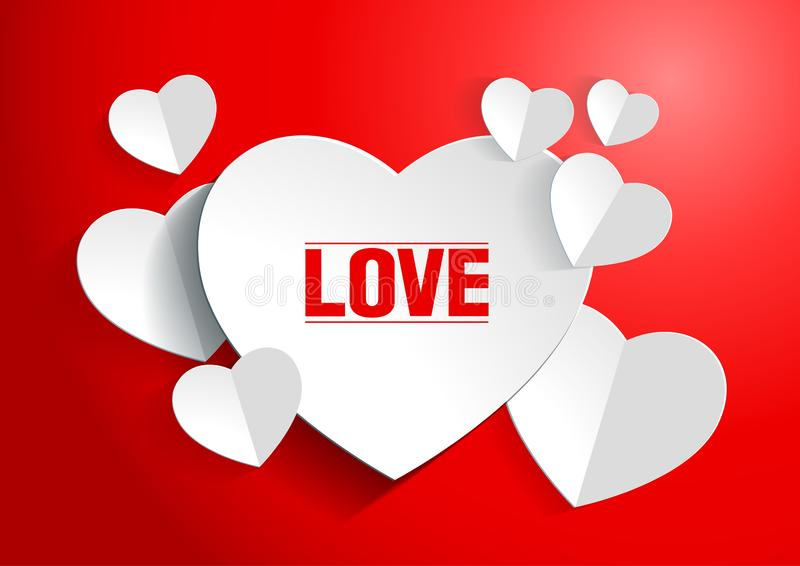 Valentine. `s Day Abstract Background. Vector illustration vector illustration