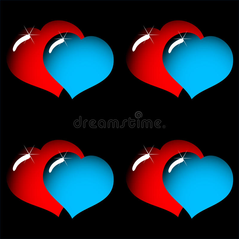 Valentine s day abstract elegance background
