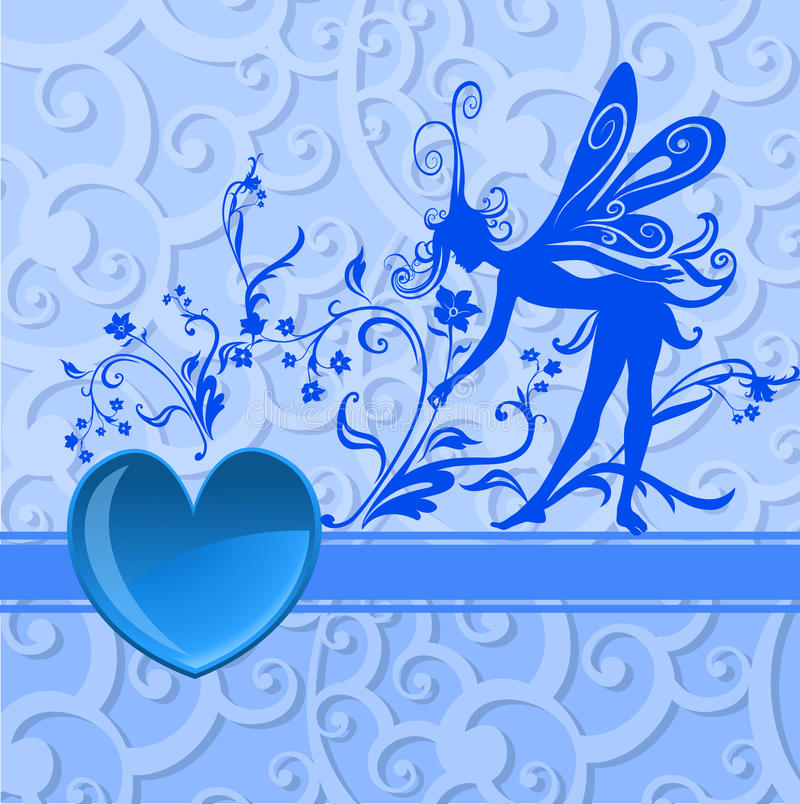 Download Valentine's Day background stock vector. Image of blue - 9790917