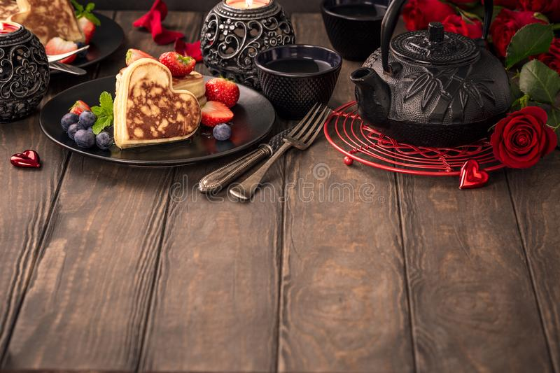 Download Valentine`s Day Background. Stock Image - Image of beautiful, breakfast: 106762487