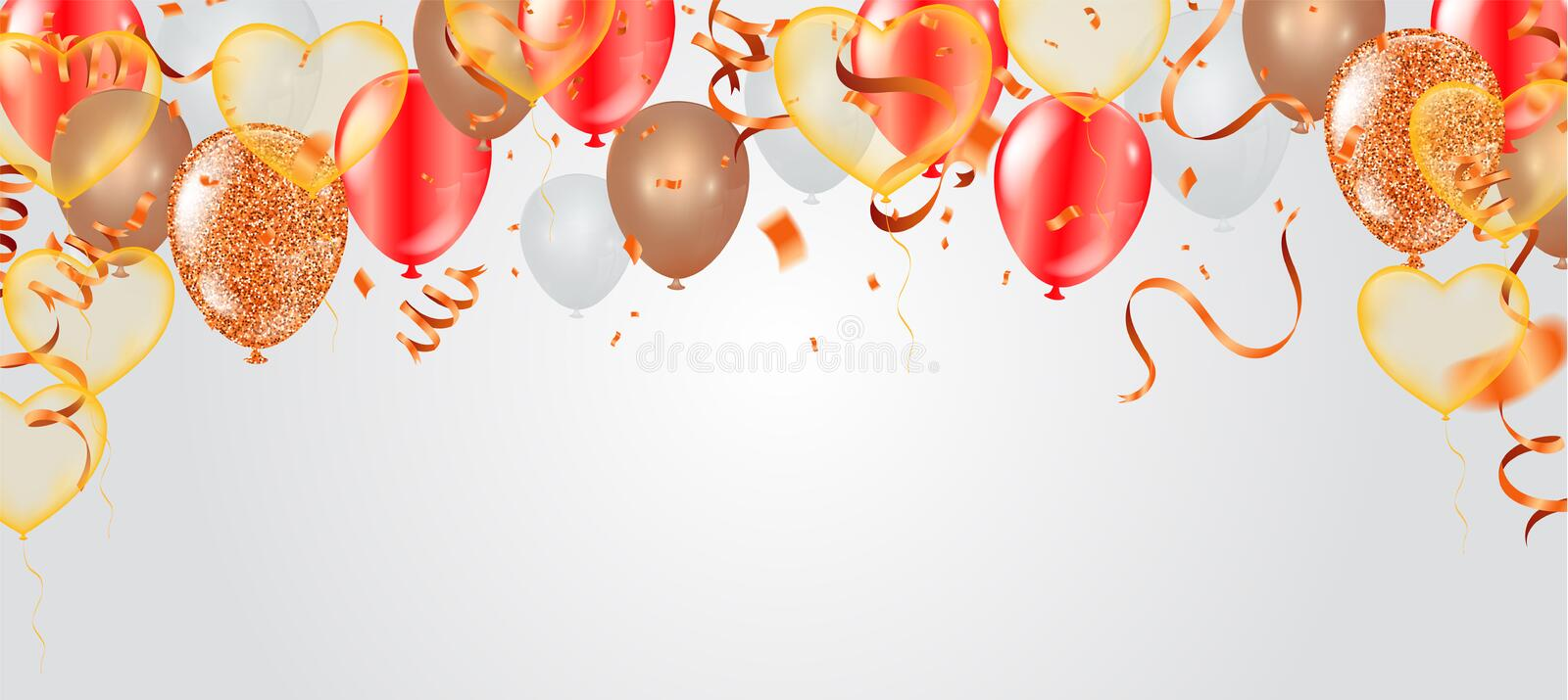 Valentine`s day, banner template. heart balloons with background. tags poster design Vector brochure, Celebration, i love you vector illustration
