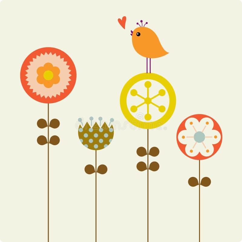 Valentine's day(birds) vector illustration