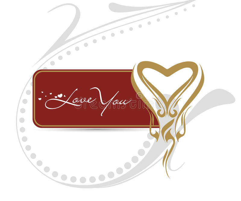 Download Valentine's Day Card Royalty Free Stock Image - Image: 12851276