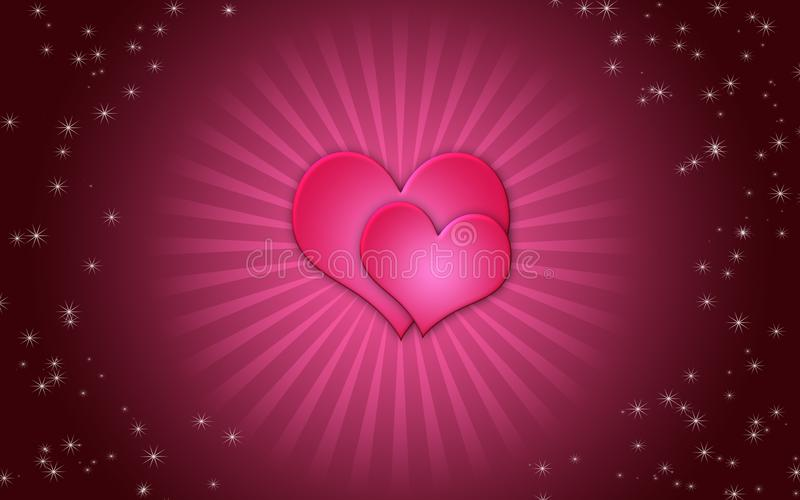 Download Valentine's Day card stock illustration. Image of greeting - 18078306
