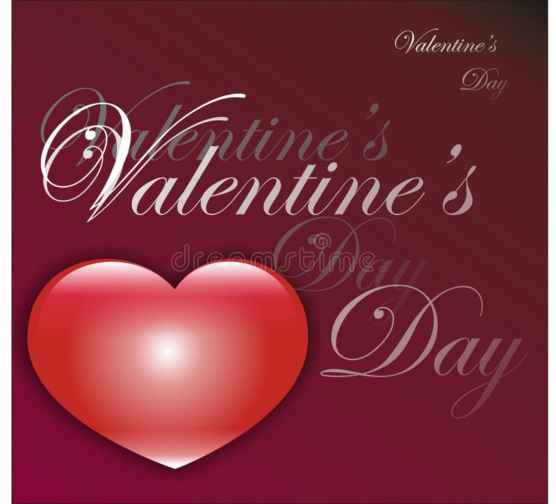 Download Valentine's day card stock illustration. Image of creativity - 7676519