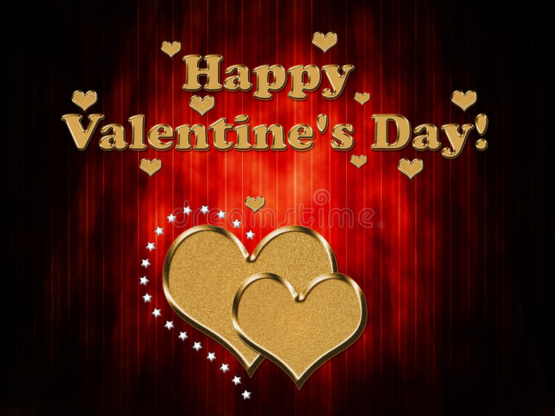 Download Valentine s Day Card stock illustration. Image of heart - 37241953