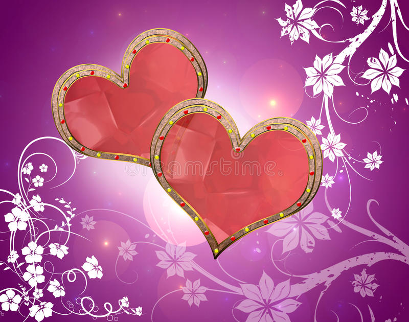 valentine& x27;s day royalty free stock photos