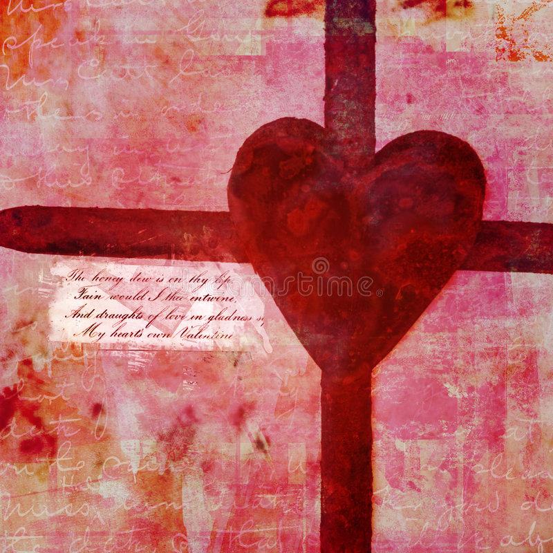 Download Valentineu0027s Day Collage Stock Illustration. Image Of Layered    3833533