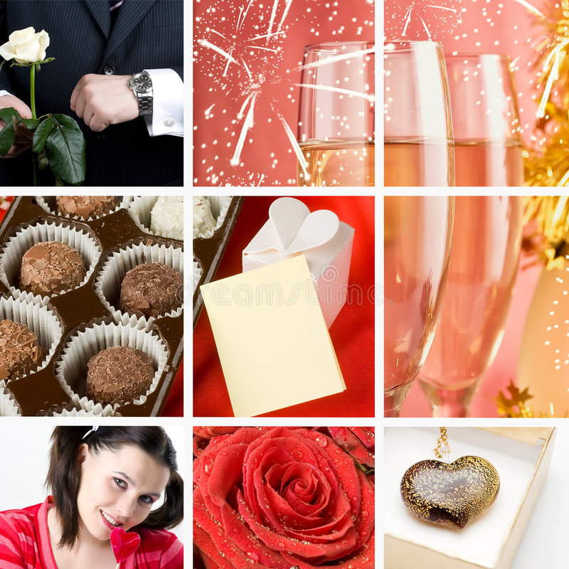 Download Valentine`s Day Collage Royalty Free Stock Photo - Image: 7728155