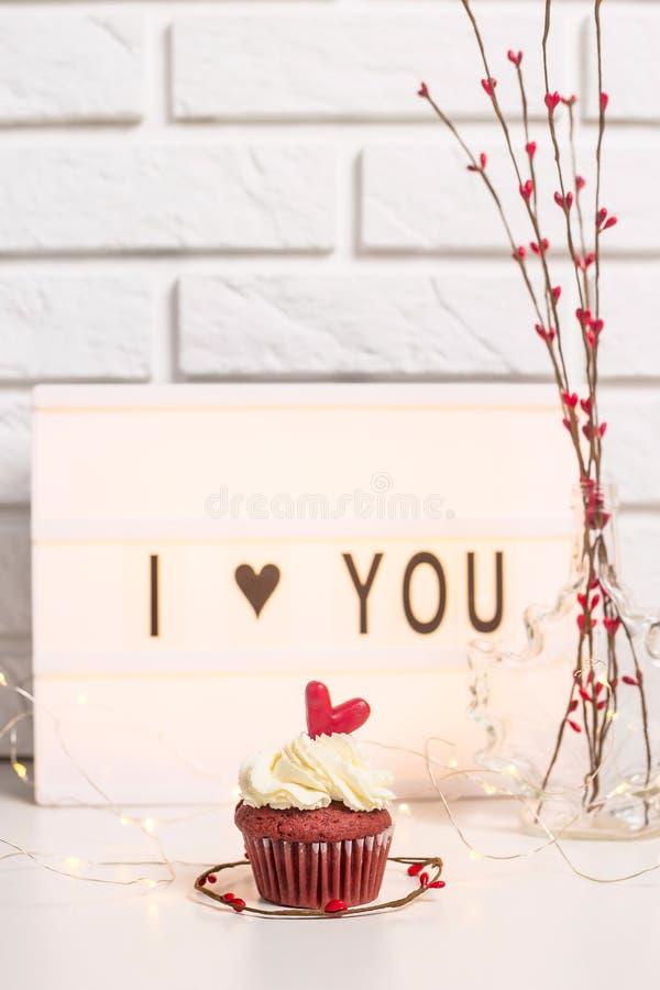 Valentine`s day concept stock image