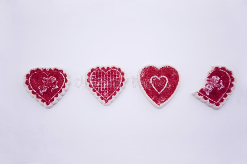 Download Valentine's day cookies stock photo. Image of image, pink - 7971842
